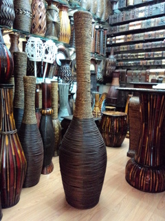 tall rattan vase wholesale china