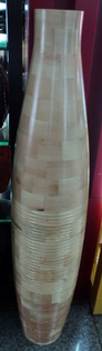 tall wooden vase wholesale china yiwu