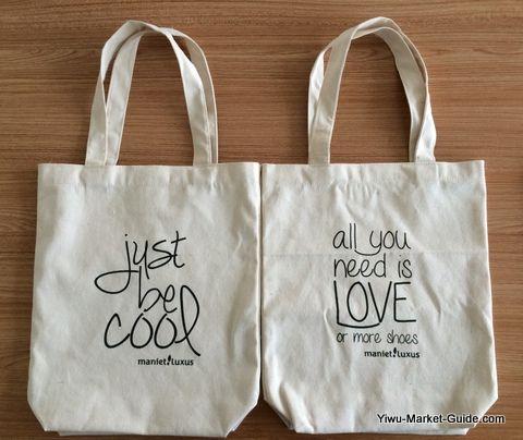 tote shopping bag with logo printing