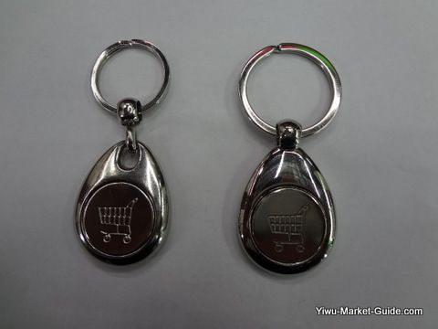 trolley coin key ring (front)