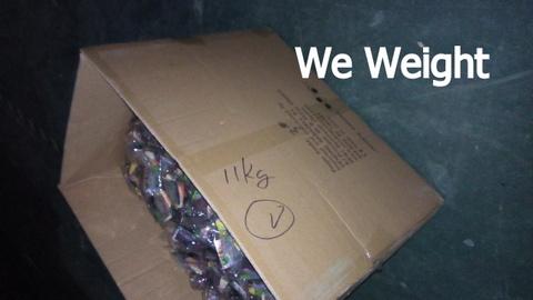 Vending toys QC - carton gross weight 1