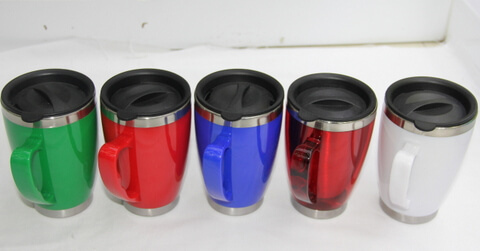 Cheap Stainless Steel Promotional Cups With Lid 450ml #00102
