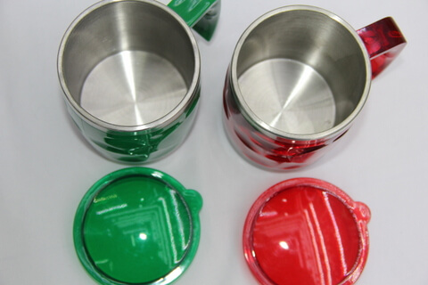 Cheap Stainless Steel Promotional Cups Mosaics #00109 1