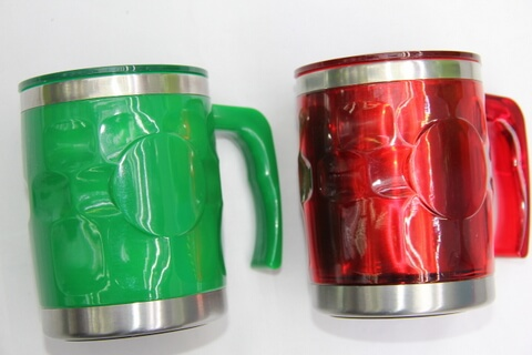 Cheap Stainless Steel Promotional Cups Mosaics #00109