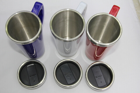 Cheap Stainless Steel Promotional Cup Bright Color #00116 1