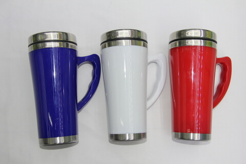 Cheap Stainless Steel Promotional Cup Bright Color #00116