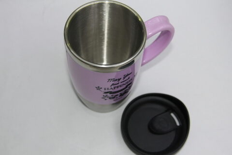 Promotional Stainless Steel Cup With Logo Print #00119 1