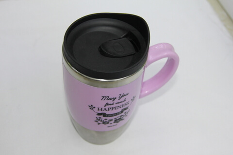 Promotional Stainless Steel Cup With Logo Print #00119 2