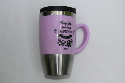 Promotional Stainless Steel Cup With Logo Print #00119