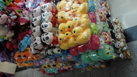 plush toys middle size wholesale in Yiwu market China