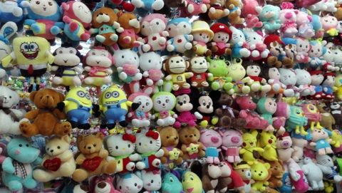 plush toys small size  wholesale in Yiwu market China