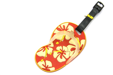 Silicone/Rubber luggage tags for tourist souvenir & gifts, mini shoes, #02003-005-9