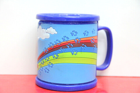 Silicone/rubber drinking cups for promotional&souvenir gifts cartoon dog #02011-008-2