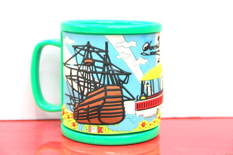 Silicone/rubber drinking cups for promotional&souvenir gifts cartoon sail #02011-012