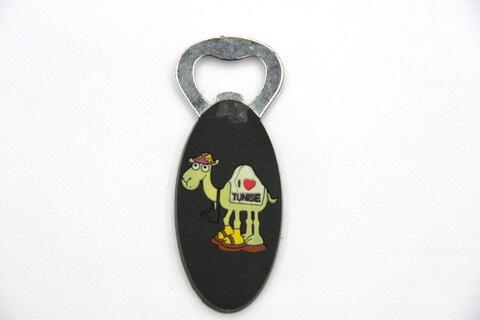 Silicone/rubber bottle opener Tunisia #02015-029