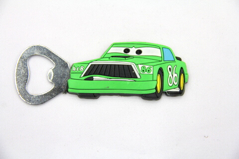 Silicone/rubber bottle opener 86 car #02015-036