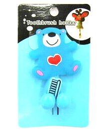 Silicone/Rubber toothbrush holder cartoon bear #02020-006