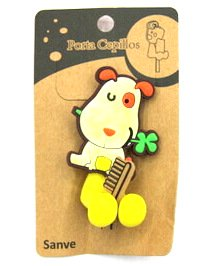Silicone/Rubber toothbrush holder cartoon animal #02020-014