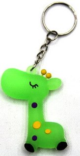 Silicone key chain (ring) Cutie