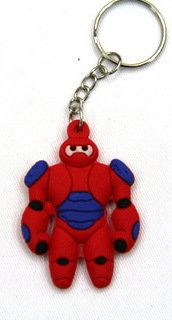 Silicone key chain (ring) Robot