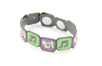 Silicone/Rubber (Soft Plastic) Bracelet Music #02029-011