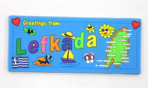 Silicone/Rubber Fridge Magnet tourist souvenirs, Greece, , # 02035-014