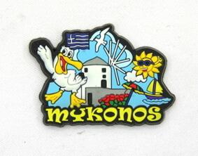 Silicone/Rubber Fridge Magnet tourist souvenirs, Greece, , # 02035-016