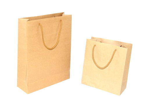 Two sides 120g Craft Paper Bag, #03004