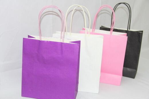 White 120g Craft Paper Bag, #03012