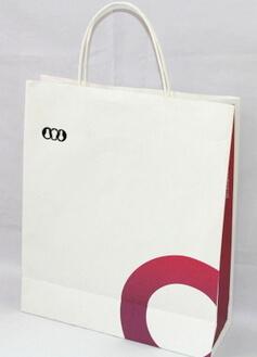 White 180g Craft Paper Bag, #03013