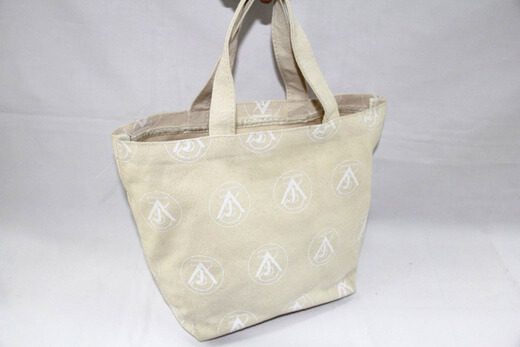 Reusable promotional cotton/canvas shopping totes with custom print/logo,, #04-017