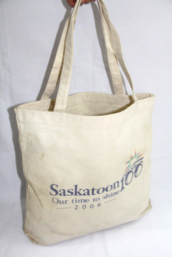 Reusable promotional cotton/canvas shopping totes with custom print/logo,, #04-026