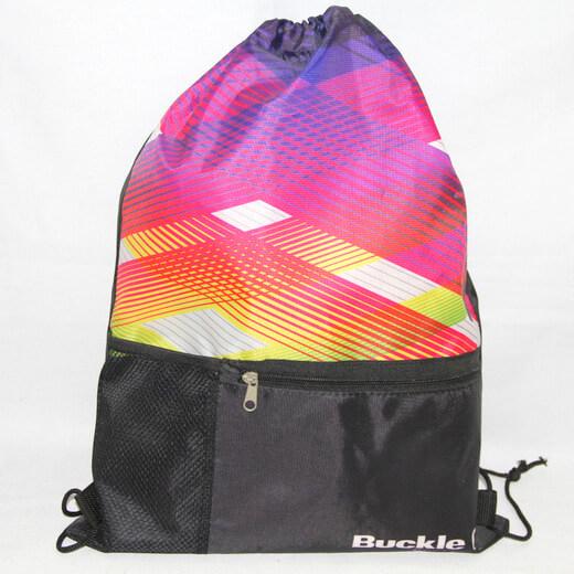 Promotional Polyester Fabrics Drawstring Bags/Backpack in China Yiwu ,logo, #04-082