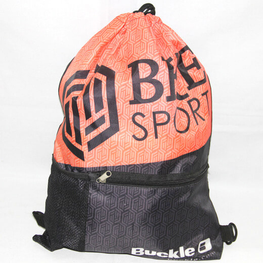 Promotional Polyester Fabrics Drawstring Bags/Backpack in China Yiwu ,sports, #04-084