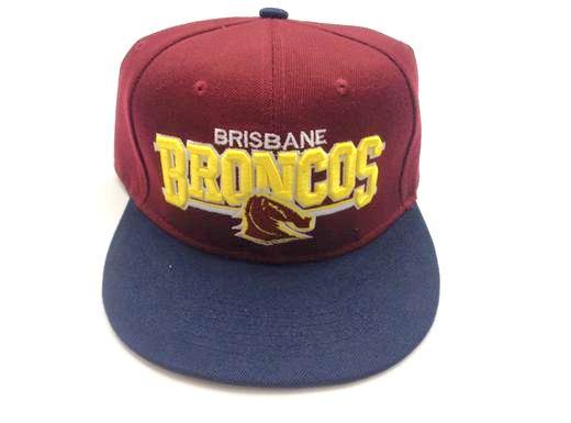 New Zealand Rugby Team Hat, Brisbane Broncos , #05011-00911