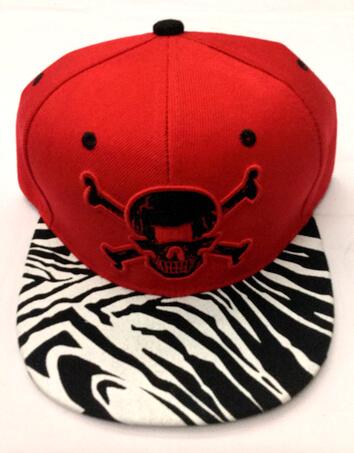 Fashion hats/caps Yiwu China, Skull embroidery , #0503-009