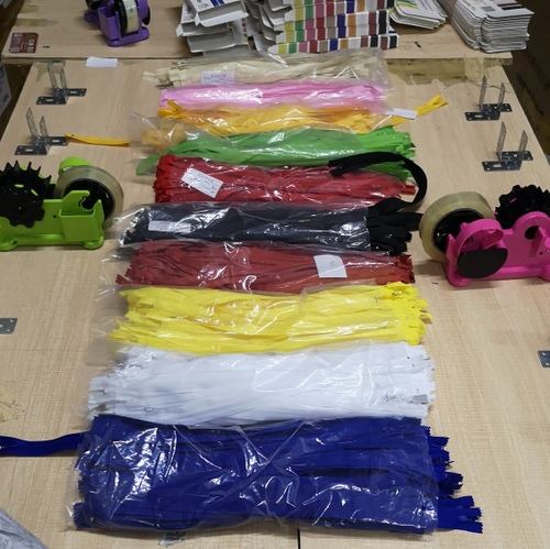 Repack zippers ordered from 1688.com