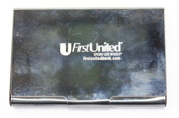 Card Holder #1301-015 , metal, firstunited