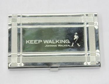Card Holder #1301-018, johnnie walker