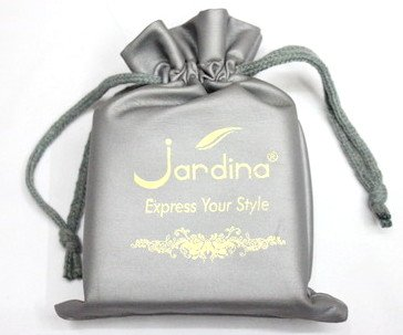 PU fabric gift bag #1401-014, with logo and personalized printing