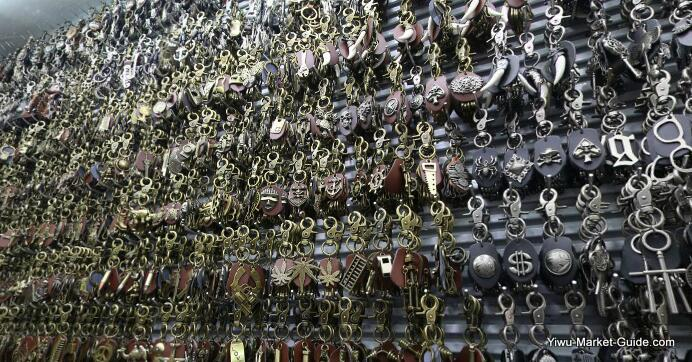 metal keyrings wholesale yiwu market china