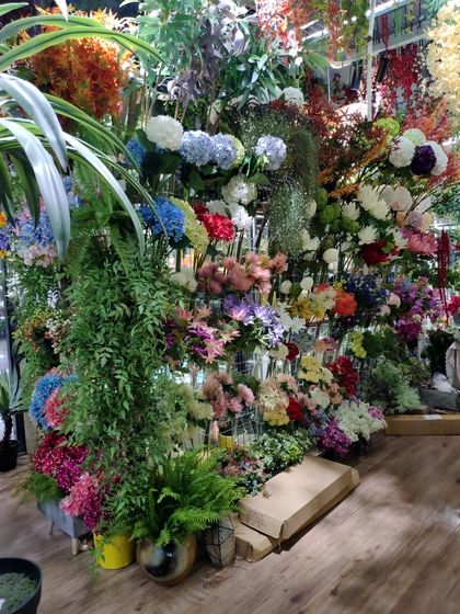 9105 OuXi Plastic Flowers Showroom 005