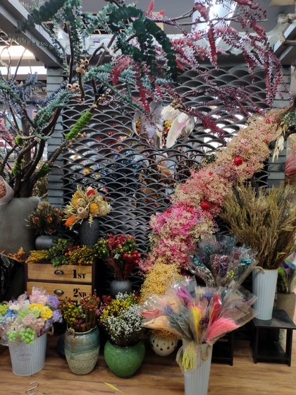 9108 WONWAY Dry Flowers Showroom 001