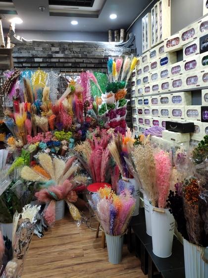 9108 WONWAY Dry Flowers Showroom 007