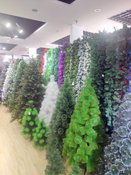 9110 Xinyuan Christmas Tree Factory Wholesale Supplier Showroom 004