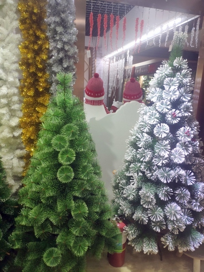 9110 Xinyuan Christmas Tree Factory Wholesale Supplier Showroom 006