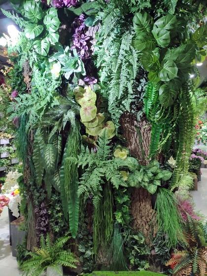 9116 Bright Land Man made Plants & Leaves Showroom 004
