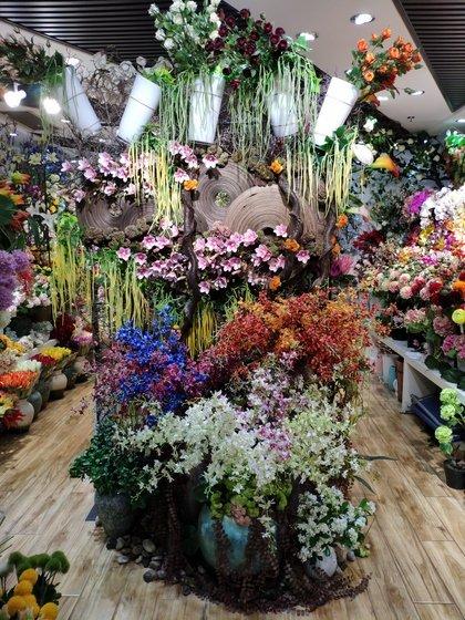 9117 JunTing Artificial Flowers Showroom 002