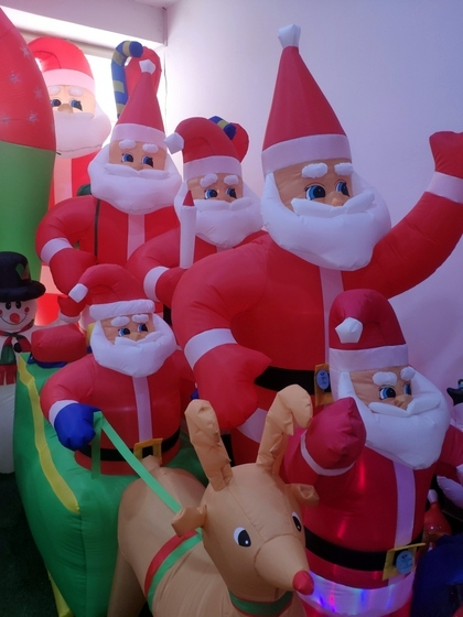 9123 ZQ Santa Clause wholesale supplier & factory showroom 003