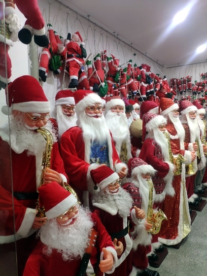 9123 ZQ Santa Clause wholesale supplier & factory showroom 005
